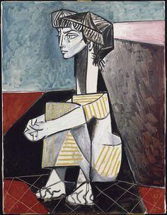 Jacqueline aux mains croisées 1954 #Picasso #laeffe