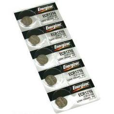 5 CR1216 Energizer Watch Batteries Lithium Battery Cell - http://www.watchesandstuff.com/5-cr1216-energizer-watch-batteries-lithium-battery-cell/