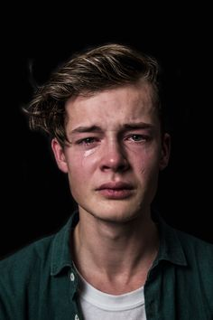 "maudfernhoutphotography:                          ""What Real Men Cry... - e(art)h"
