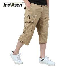2d36bfbd TACVASEN Army Men's Shorts Summer Military Cargo Shorts Tactical Clothing  Plus Size Casual Capri Shorts Fashion Wear TD-SHZR-001