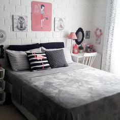 The Best 2019 Interior Design Trends - Interior Design Ideas Teenage Girl Bedrooms, Girls Bedroom, Home Decor Bedroom, Diy Room Decor, Bedroom Ideas, Girl Bedroom Designs, Dream Rooms, New Room, Girl Room