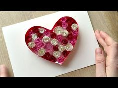 Valentine's Cards for Kids: Paper Quilling - Red Ted Art's Blog : Red Ted Art's Blog