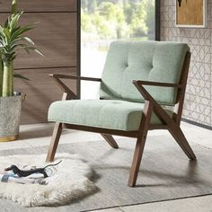 Give your decor an updated look with this INK+IVY Rocket lounge arm chair. Apartment Furniture, Living Room Furniture, Home Furniture, Outdoor Furniture, Furniture Stores, Kitchen Furniture, Furniture Ideas, Plywood Furniture, Modern Furniture