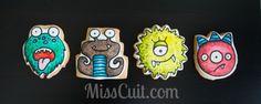 Peanut Butter Coloring Book Monsters: http://www.misscuit.com/biscuits/peanut-butter-coloring-book-monsters/  Monstres au beurre d'arachides à colorier: http://www.misscuit.com/biscuits/monstres-au-beurre-darachides-colorier/