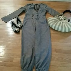 REDUCED COOL LINEN  PEPPE PELUSO JUMPSUIT You'll turn heads in this super cute cotton/linen jumpsuit. Detailed with brushed gold tone buttons at the double breast waist and on the sleeveless. A must for your wardrobe! Shoulder to hem measures 55 inches, inseam 29, armpit to armpit 17, waist 15.FINAL REDUCTION Peppe Peluso  Pants Jumpsuits & Rompers