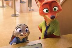"Judy Hopps and Nick Wilde pay a visit to the DMV in the new trailer for Disney's ""Zootopia."""