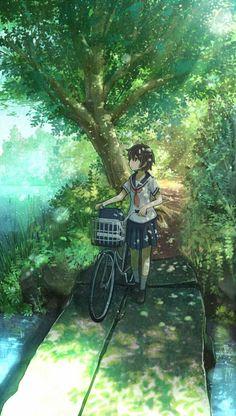 Kết quả hình ảnh cho anime girl ngồi bên cửa sổ