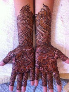 rajasthani bridal henna design