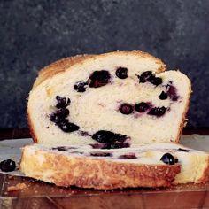 Baked Blueberry Brioche