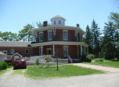 The Loren Andrus Octagon House, also known as Washington Octagon House, is an historic octagonal house located at 57500 Van Dyke Street just north of 26 Mile Road in Washington Township, Macomb County, Michigan. It was built in 1860 by David Stewart for his brother-in-law, Loren Andrus. It is now owned by the Friends of the Loren Andrus Octagon House, Inc., which bought it in 1987.