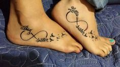 Big sister little sister tattoo