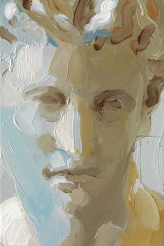 """Jan De Vliegher """"Capitol"""" 2009  Less is More, love the brush strokes"""
