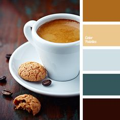 bluish, brown, chocolate color, coffee color, color choice, emerald green, green, house color schemes, Orange Color Palettes, shades of coffee with milk.