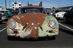 Porsche 356 rat rod from Emory Motorsports