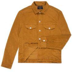 Paul Smith Men's Jackets - Orange Corduroy Western Jacket