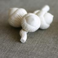 3 Porcelain Acorns on Twig by Coe & Waito via MADE: Canadian Design / Ceramic, Made in Canada, Canada