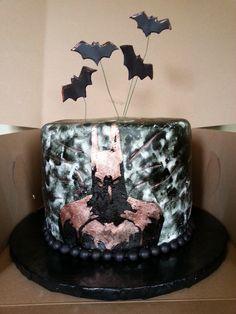 Batman Dark Knight Cake Cakes Pinterest Torták és Batman - Dark knight birthday cake
