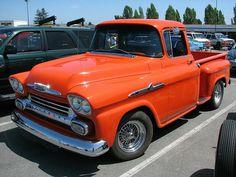 1958-59 Chevrolet Apache 31 Pickup by V8 Power, via Flickr