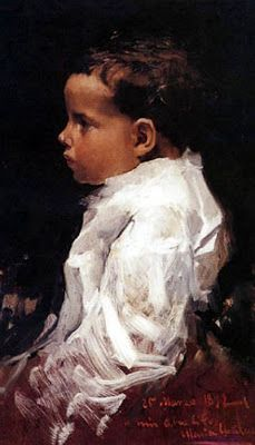 portrait of Maria, by Joaquín Sorolla y Bastida