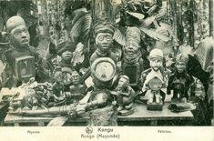 Yombe Carte postale Ed. Nels, Bruxelles pour les Missions de Scheut +- 1930