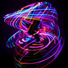 LED Hula Hoops: Strobe, Color Change, Solid, Multicolor