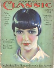 Motion Picture Classic magazine - October 1926 - Louise Brooks cover by Don Reed