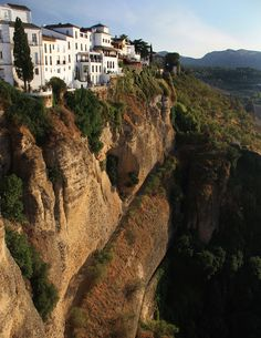 Ronda, Málaga | Spain. One of beautiful places ever!   My parents have taken me there many times