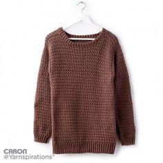 Free Easy Crochet Pullover