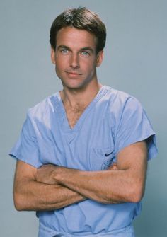 Mark Harmon as 'Dr. Robert Caldwell' in St. Elsewhere (1982-88, NBC)