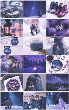 Galaxy Winter aesthetic
