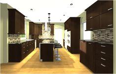 Project Décor: great kitchen, minus the back splash.