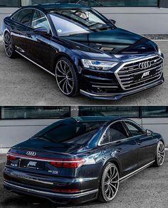 Audi by ABT Sportsline — Autos. Audi A8, Audi Quattro, Luxury Sports Cars, Sport Cars, Audi Autos, Carros Audi, Porsche, Automobile, Vw Amarok