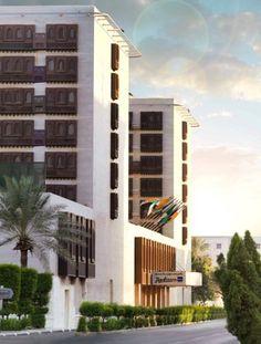 The Radisson Blu hotel in Jeddah: http://www.radissonblu.com/hotel-jeddah