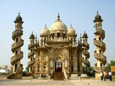 Look what we found for you - The tomb of Bahar-ud-din Bahar located in Mahabat Maqbara Complex, Junagadh city of Gujarat.   The monument is a mixture of Indo-Islamic, European, and Gothic architecture. It is known for its unique construction and is one of the best-preserved monuments till date. Please click on each picture to take a closer look at it.   #NewFindings #India #IncredebleIndia #Gujrat #travel #tour #trip #architecture  #yolo #usa #USA  #GujaratTourism #UCLA #MahabatMaqbara Gothic Architecture, Architecture Design, Daman And Diu, Union Territory, Usa Usa, Tourist Places, Beautiful Places To Travel, Incredible India, Yolo