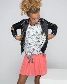 6a87fc10f92a4c Like Flo Flo girls flower lace sleeveless top Meisjes tank top Direct  leverbaar uit de webshop van www.humpy.nl