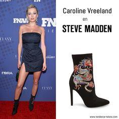 Caroline Vreeland en boots signées Steve Madden - 31st Footwear News Achievement Awards à New York