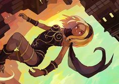 Gravity rush.... looking awesome