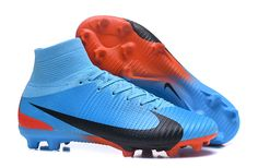new products 1ec7c c39dc New Nike Mercurial Superfly V FG Boots , in Blue Red Black colorway . up to