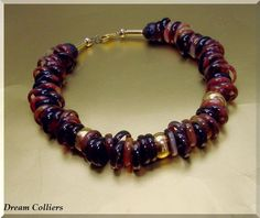 Achatringe - Designercollier von Dream-Colliers auf DaWanda.com
