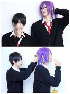 himuro tatsuya and murasakibara atsushi cosplay from kuroko no basuke