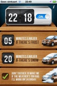 Genius: New App Wakes You Up Earlier If It Snowed LastNight.. i need this!