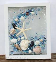 Beach art beach art resin shell art shell art sea glass sea glass window beach g. - Beach art beach art resin shell art shell art sea glass sea glass window beach g… - Sea Glass Mosaic, Sea Glass Art, Glass Beach, Seashell Art, Seashell Crafts, Beach Crafts, Sea Glass Crafts, Resin Crafts, Window Art