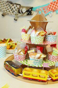 子供の日・端午の節句|テーブルコーディネート|プラレールパーティー|Kid's Train Party