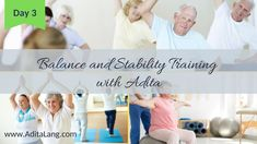Active Aging Workout Video Balance and Stability with Adita Yrizarry-Lang Daily Activities, Workout Videos, Stability, Muscle, Exercise, Everyday Activities, Ejercicio, Excercise, Work Outs