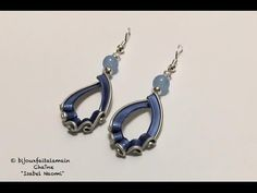 DIY coffee pod: How to make water droplet earrings - YouTube