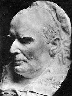 President William McKinley's death mask. ..assassinated in 1901 at Pan-American Exposition in Buffalo, NY