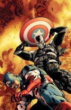 Captain America vs Scourge