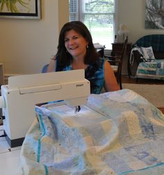 Edge to Edge Quilting with Embroidery Machine