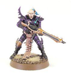 Tale of Painters: Tutorial: How to paint Dark Eldar Warriors (the Stahly way)