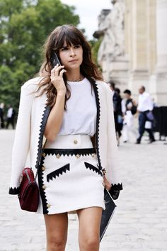 The Best Street Style from Paris Haute Couture Shows 2015 | Teen Vogue